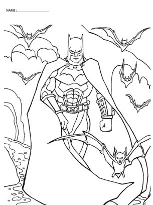 Give A Like For Free Batman Coloring Sheets At Freeprintableonline