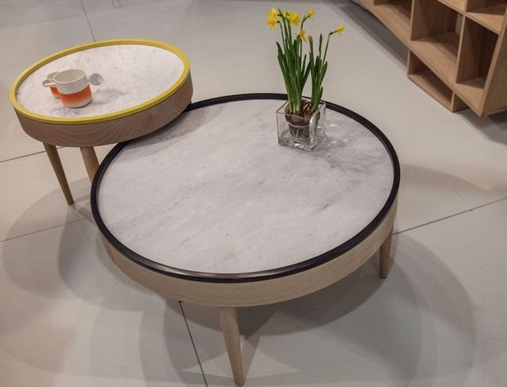 Coffee Table Round Shape   The Best Wood Furniture