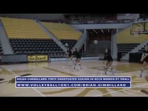 Volleyball Warm Up Drill to Improve Rhythm - AVCA Video Tip of the Week