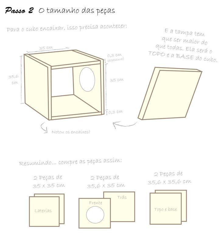 Os gatos adoram esconderijos! Eles precisam de caixas, tocas, iglus e cubos para se sentirem mais seguros no ambiente. Vendo as prateleiras de pet shop parece impossível conseguir um cubo de gatos …