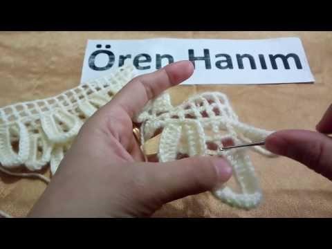 çeyizlik şal modeli yapımı - YouTube