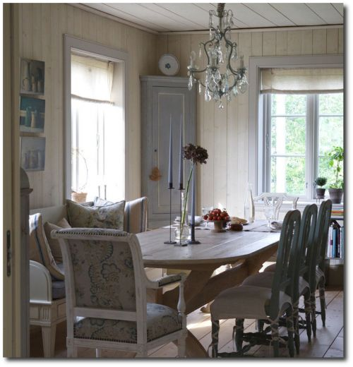 Gustavian Home3 500x520 3 Rustic Scandinavian Country