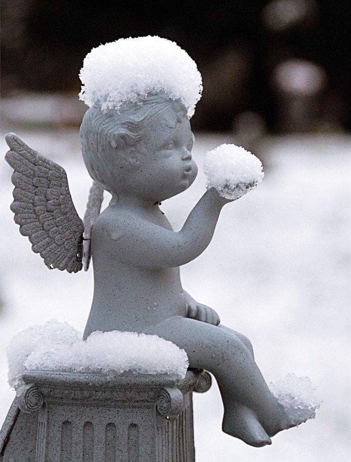 Картинки со снегом прикольные