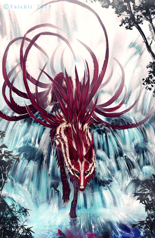 268 best Tatchit Art images on Pinterest   Anime wolf ... - photo#7