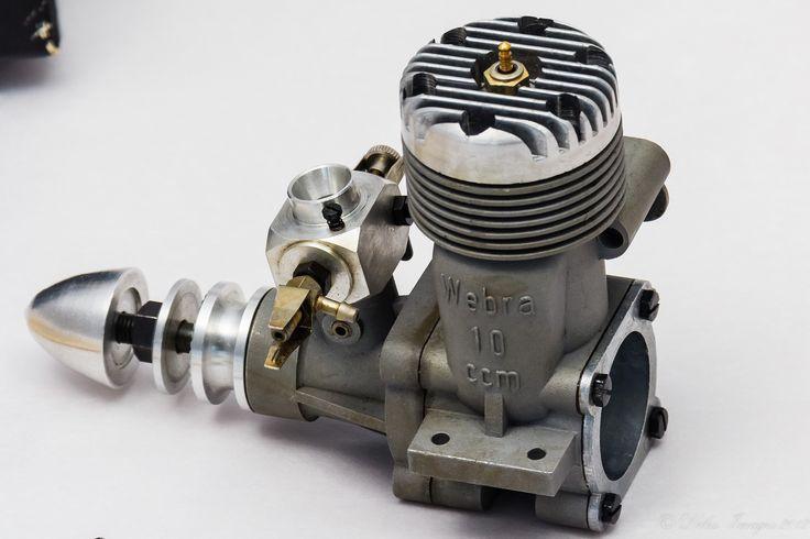 Webra 61 RC Engine Left Side | Flickr - Photo Sharing!