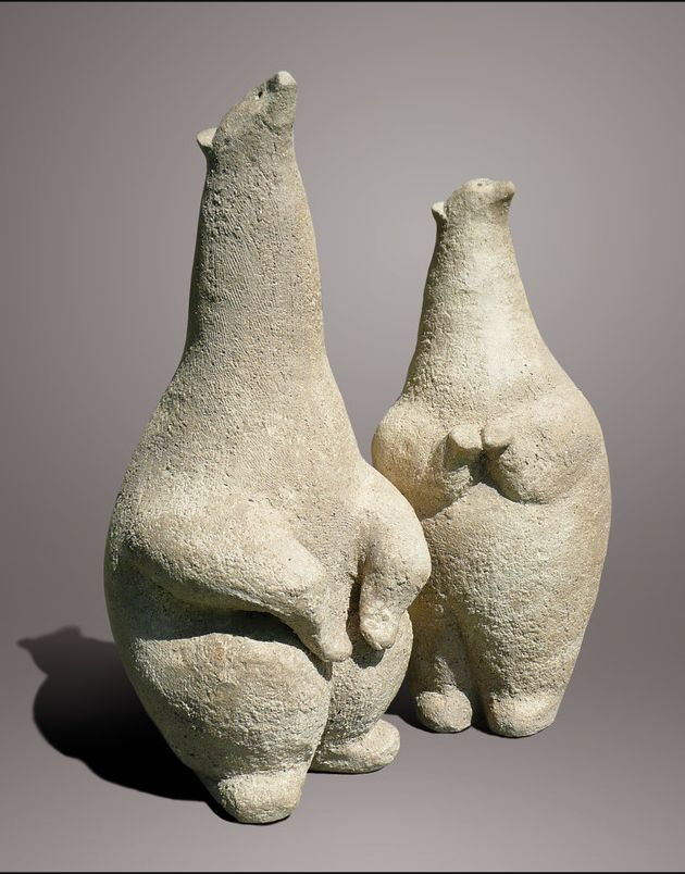 ☥ Figurative Ceramic Sculpture ☥ Christian Pradier