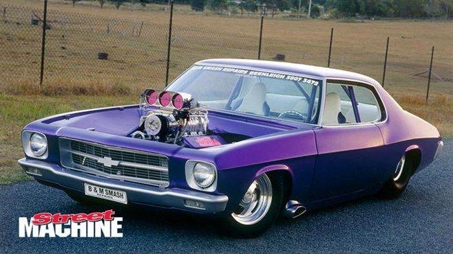 ◆ Visit MACHINE Shop Café... ◆ ~ Aussie Custom Cars & Bikes ~ Pro Street '72 HQ Holden Monaro