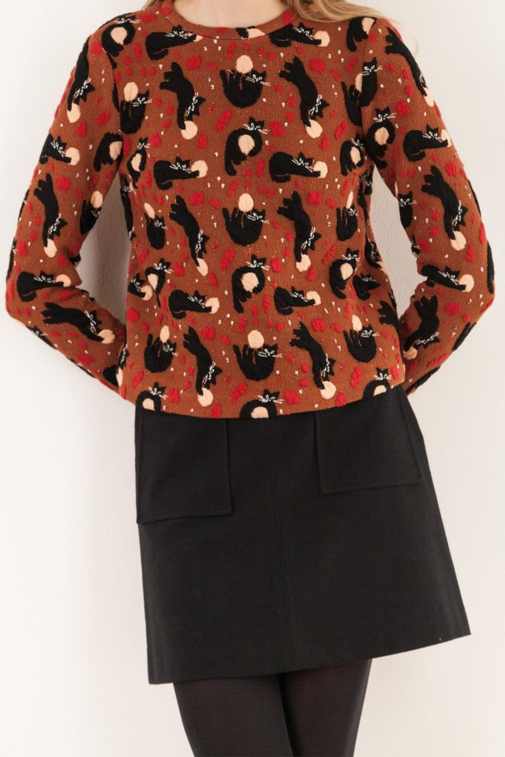 A-line skirt - Women's Clothing Online Made in Italy
