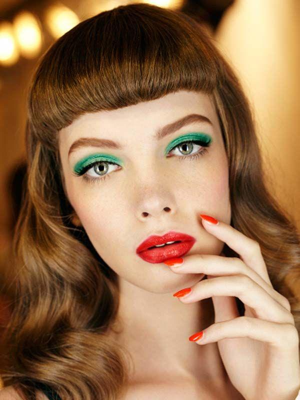 Christian Dior colour-blocked makeup