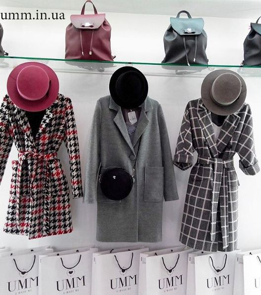 Coat UMM #пальто #UMM #мода #стиль #весна #шляпки #рюкзак #клетка #харьков #украина  #бренд #UMM #fashion #style #coat #kharkov #UMM