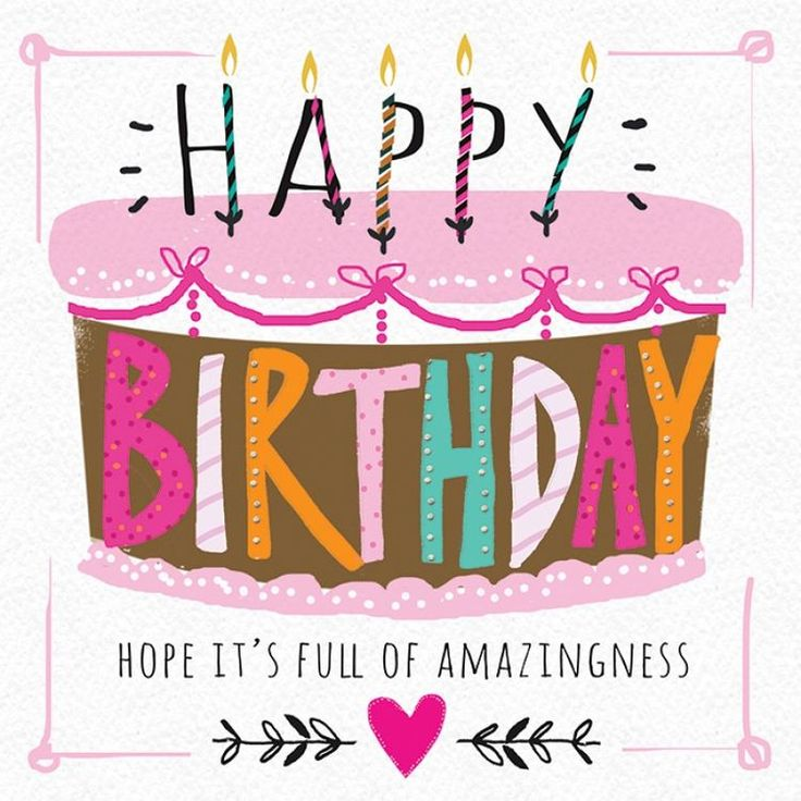 736 Best Images About Birthday Cards On Pinterest
