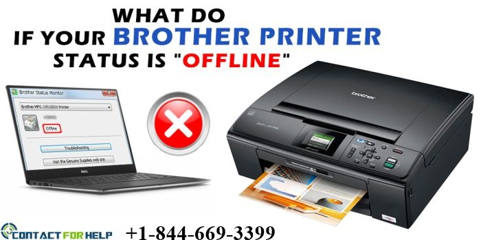 Instructions To Change Brother Printer Offline To Online Brother