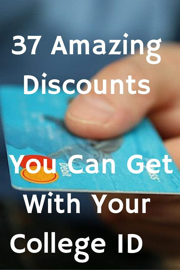 Here is how to get big savings and national retailers with just your student ID.