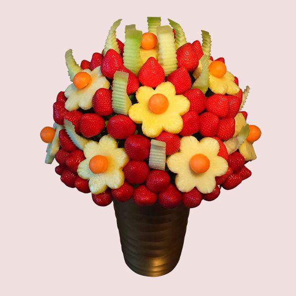 108 best Fruit Bouquet images on Pinterest   Fruit arrangements ...