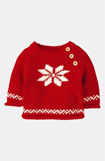 Mini Boden 'Winter' Sweater (Infant) available at #Nordstrom