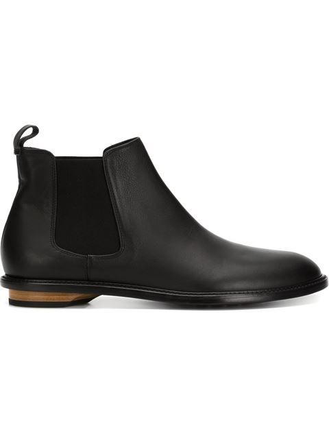 VALAS wood heel Chelsea boots. #valas #shoes #boots