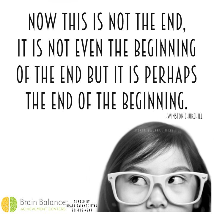 Winston Churchill Quotes Beginning Of The End