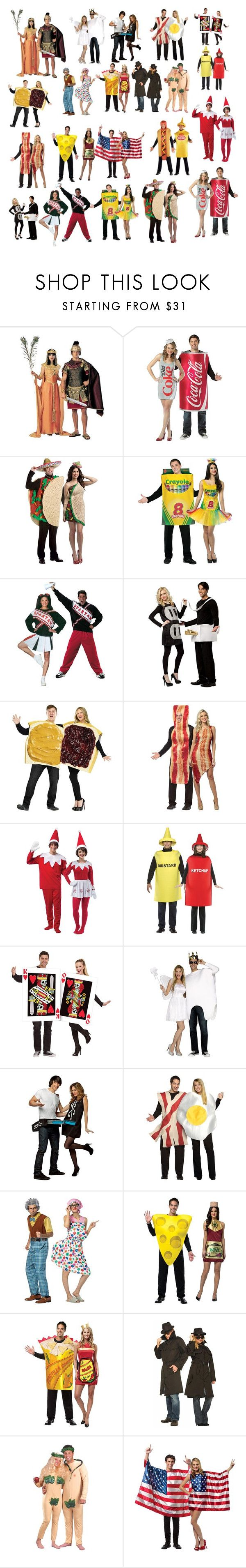 """""""Couples Costume"""" by galactic-girl ❤ liked on Polyvore featuring Rubie's Costume Co. and Rasta Imposta"""