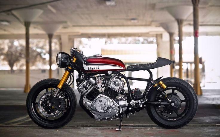 Yamaha Virago 750 (XV750) Cafe Racer by Hageman MC #motorcycles #caferacer #motos | caferacerpasion.com