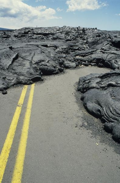 Road blocked by cooled lava in Hawaii Volcanoes National Park  Google Image Result for http://traveltips.usatoday.com/DM-Resize/photos.demandstudios.com/getty/article/76/114/200366460-001.jpg%3Fw%3D600%26h%3D600%26keep_ratio%3D1