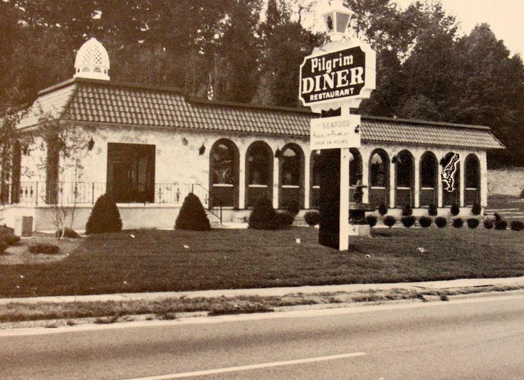 Old Pilgrim Diner in Cedar Grove  1980's