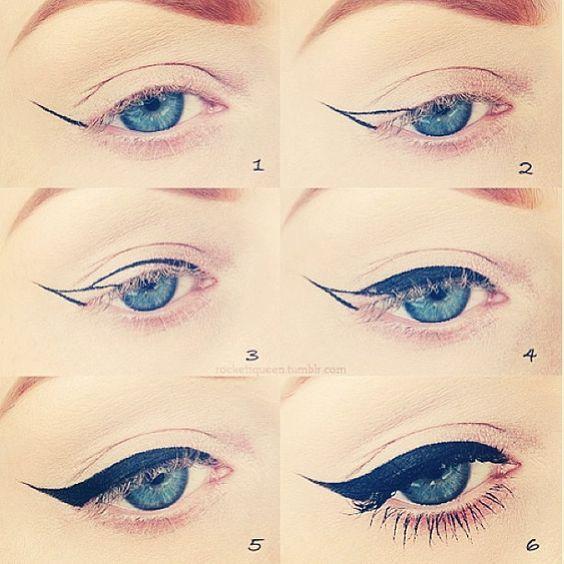 Eyeliner trick:
