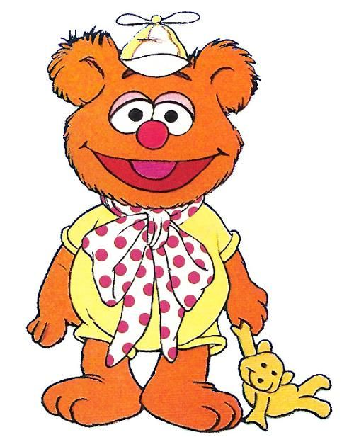 Baby Fozzie from the Muppet Babies