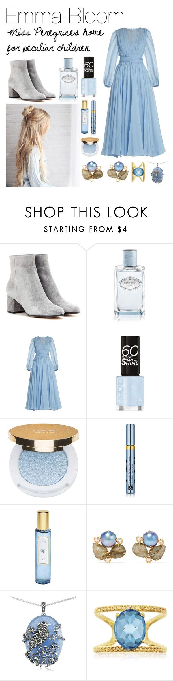 """n #20"" by nannaschjoedt on Polyvore featuring Gianvito Rossi, Prada, Dolce&Gabbana, TRUE Isaac Mizrahi, Estée Lauder, Shay & Blue, Bounkit and Lord & Taylor"