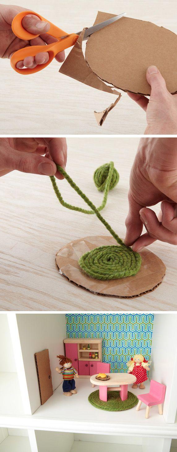 Lalki też mogą mieć swoje dywany. Dzisiejsze zadanie dla każdej mamy :)!