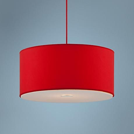 possini euro design red shade 15 34 wide pendant light blown pendant lights lighting september 15