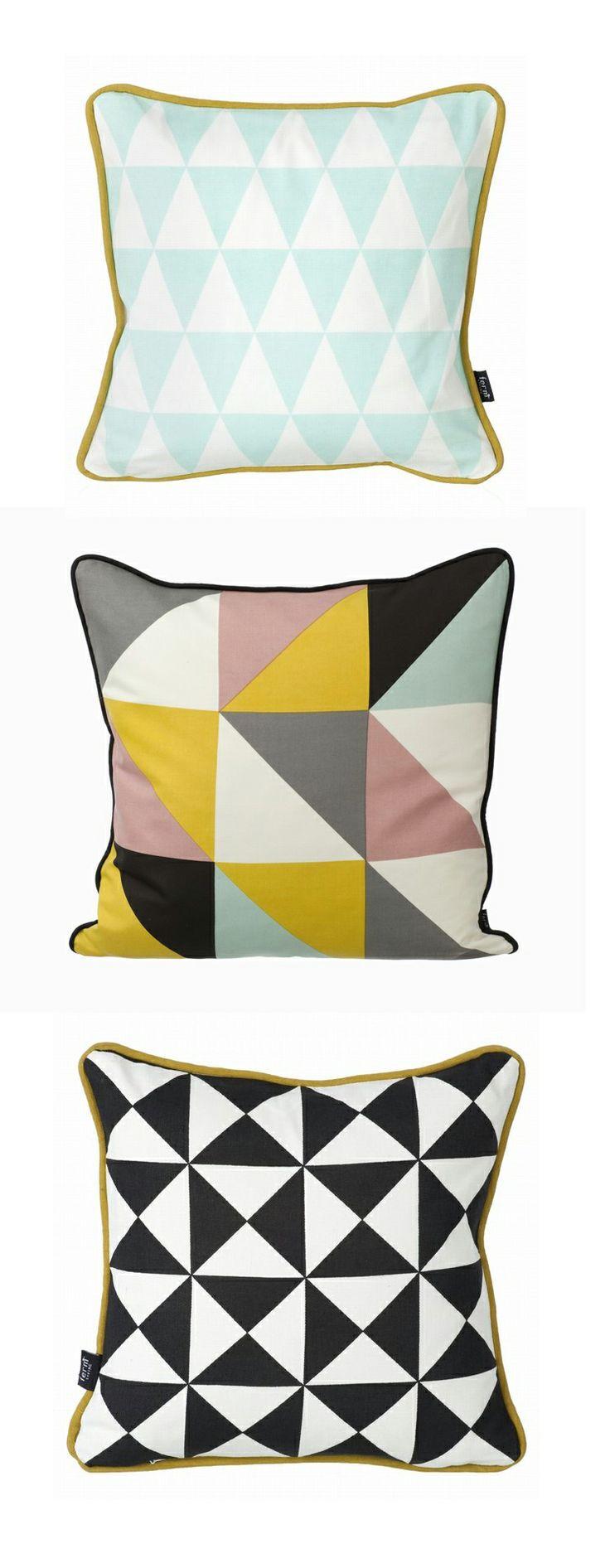 Geo pillows