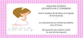 Resultado de imagen para invitaciones de primera comunion para niña 2015
