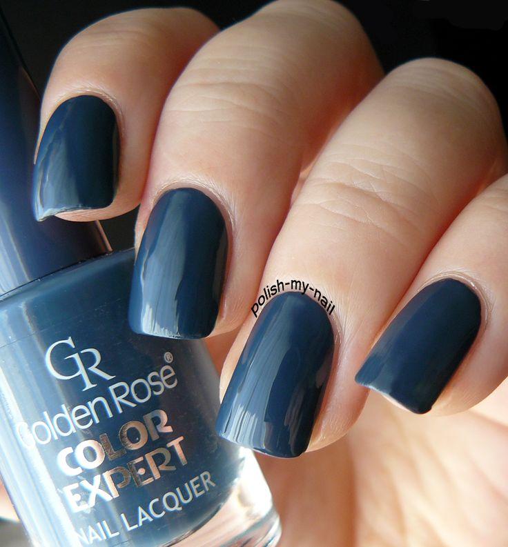 Golden Rose - Color Expert 91 #grey #nails #nailpolish