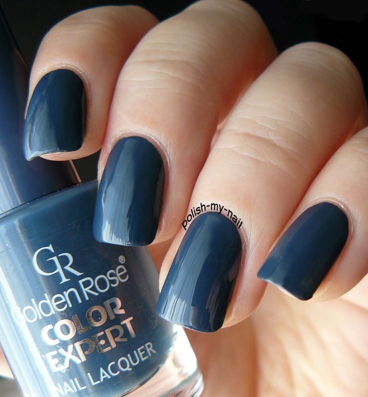 Golden Rose - Color Expert 91 #grey #nails #nailpolish