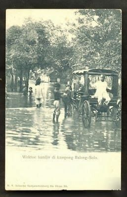 Flood at Balong Surakarta ~ 1899