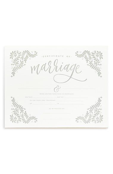 PRINTABLE+WISDOM+Marriage+Certificate+available+at+#Nordstrom