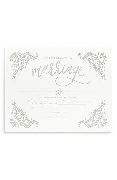 Best 25+ Wedding certificate ideas on Pinterest