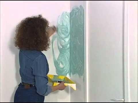 Les 25 meilleures id es de la cat gorie peinture l - Peinture al eponge sur meuble ...