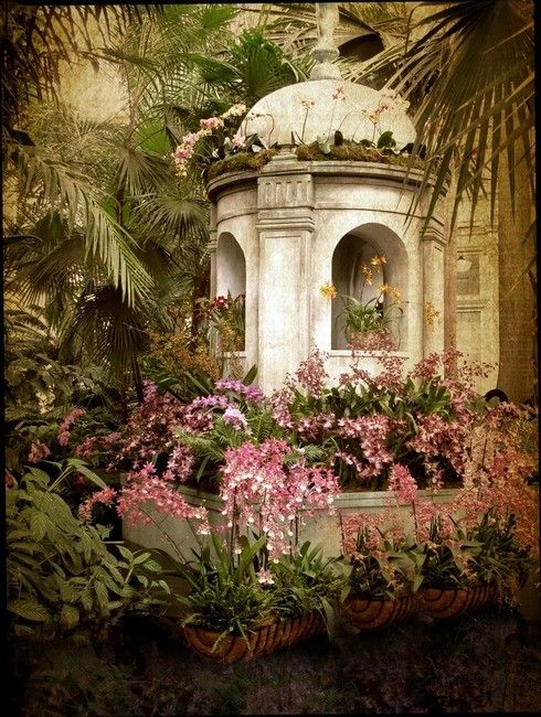 Garden Gazebo, Sintra.  I was here many years ago and forgot how beautiful it was until my son sent this image to me!