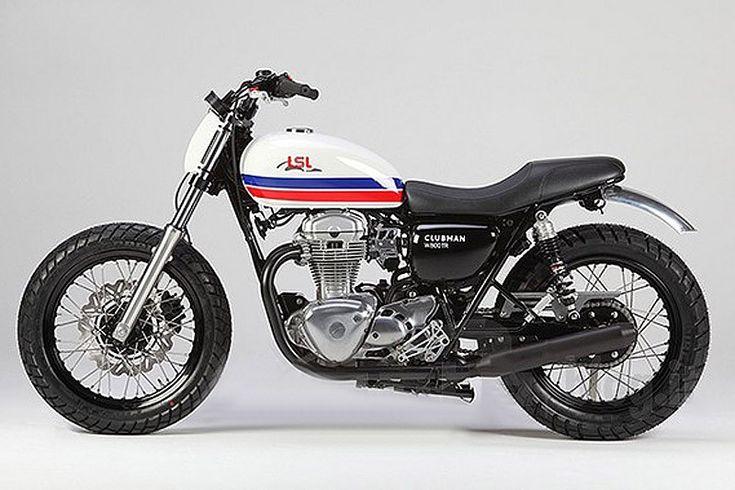 Préparation - La Kawasaki W 800 version Dirt Track - Moto Revue