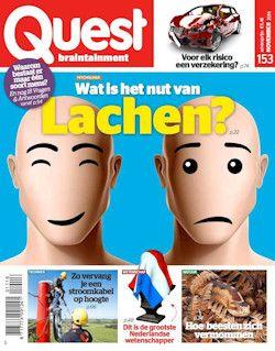 12x Quest € 45,-: Quest, het blad dat boeit, verrast en intrigeert. Elke maand heeft Quest nieuwe wetenswaardigheden en verrassende feiten.