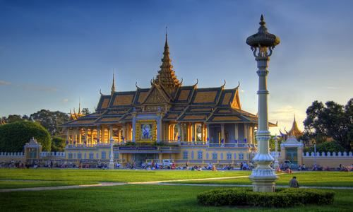 Palacio Real, Nom Pen, Camboya