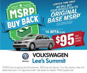 VW Lee's Summit Jetta Lease Special