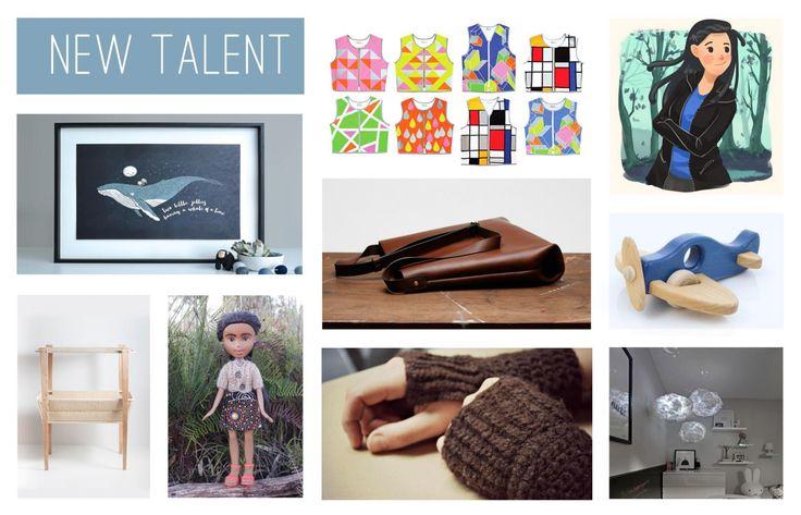 The @etsy 'New Talent' finalists in the #etsydesignawards, https://etsydesignawards.com.