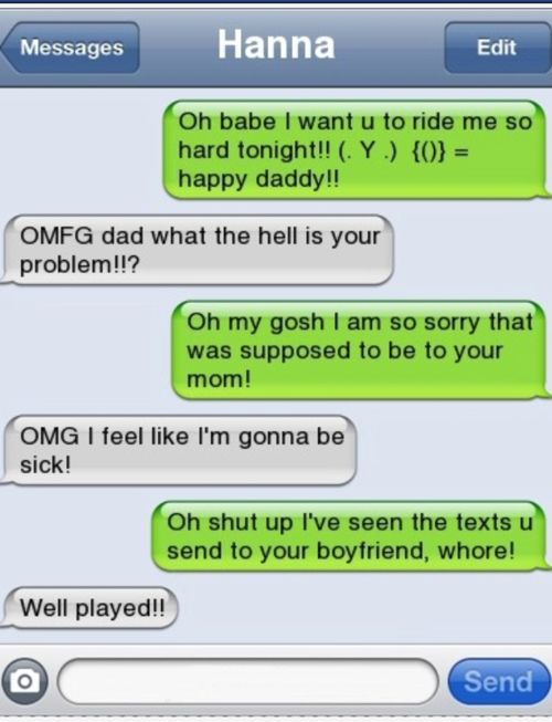 funny text messages gone wrong | Man, I like how you leave to pee and come back to a tirade about ...
