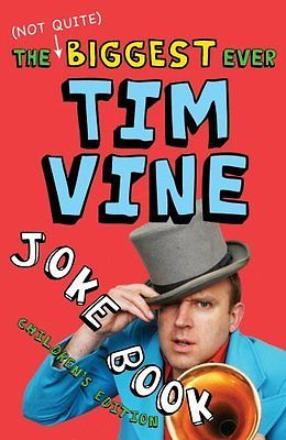 The (not quite) #biggest ever tim vine joke #book: children's #edition, tim vine ,  View more on the LINK: 	http://www.zeppy.io/product/gb/2/381896393348/