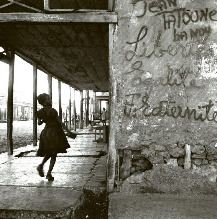 houkgallery:Danny Lyon (American, b. 1942) Gonaives, Haiti, 1986 (from Montage of Merci Gonaives, Haiti) ©Danny Lyon/Courtesy of Edwynn Houk Gallery
