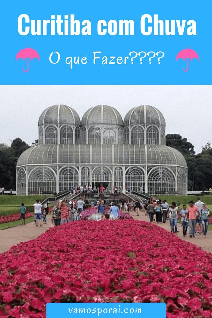 Pegou chuva em Curitiba? Descubra várias coisas para fazer na cidade com chuva: Mercado Municipal, Museu Oscar Niemeyer, Museu do Automóvel, Rua 24 horas, entre outros. #Curitiba #DicasdeViagem