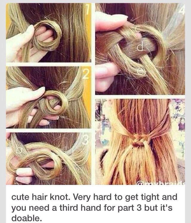 Super Cute Hair Knot