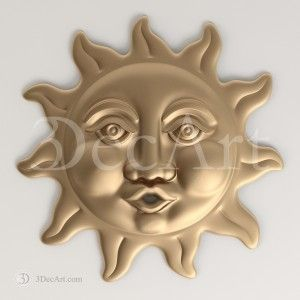 Rn_013 | 3D model of the sun blowing